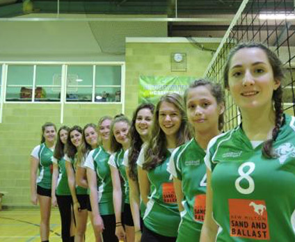 Girls Volley Ball Team